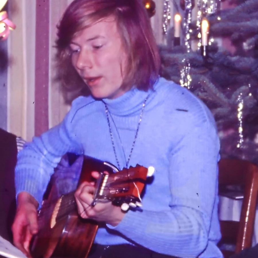 Weihnachten Anfang der 70er Jahre