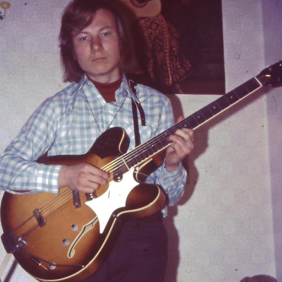 meine erste E-Gitarre - eine Framus
